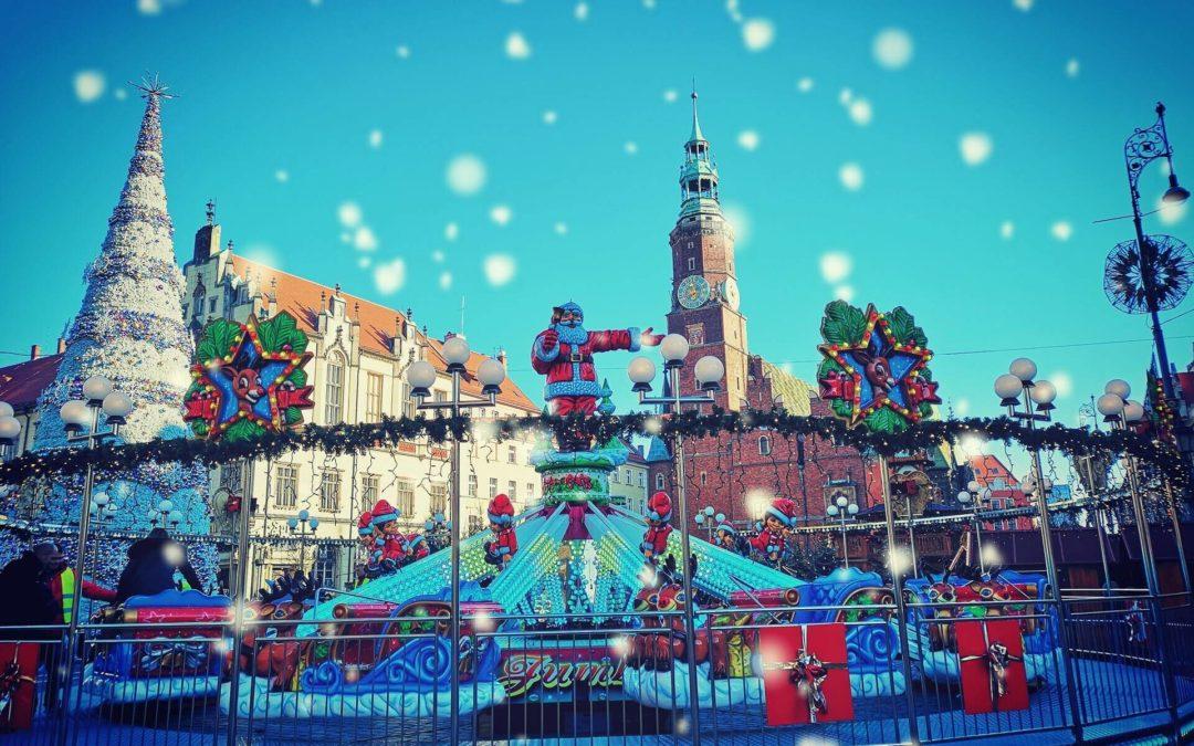 Weihnachtsmarkt in Breslau