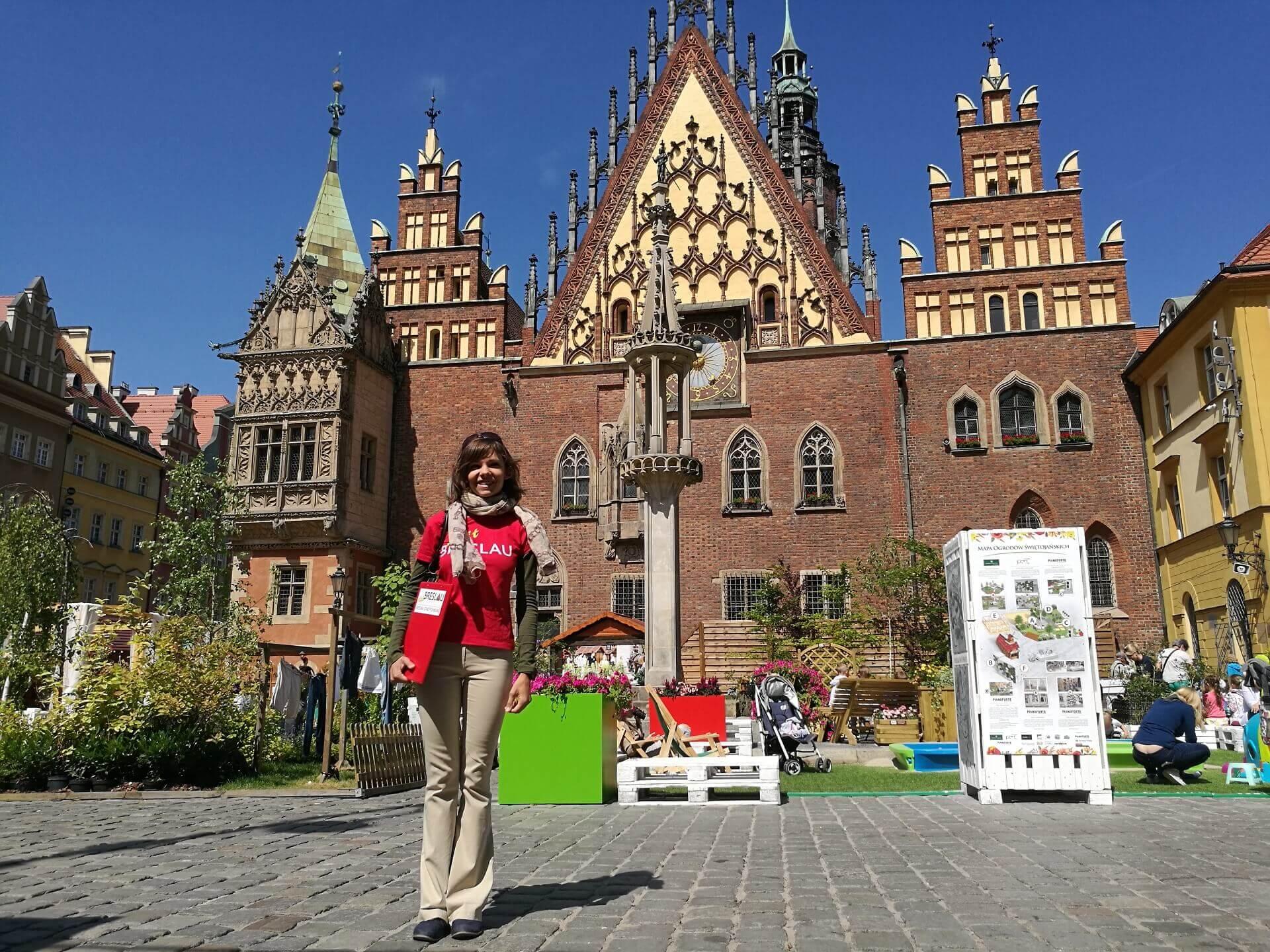 Marktplatz in Breslau