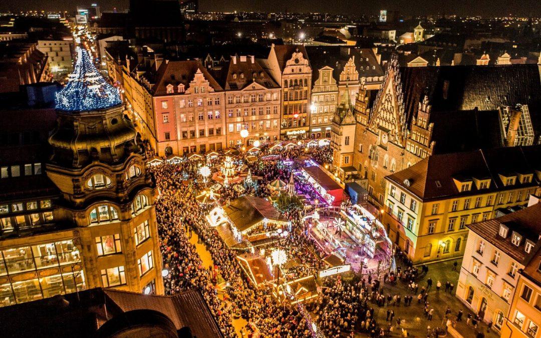 Weihnachtsmarkt 2019 in Breslau